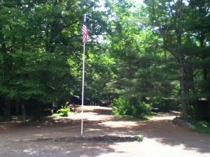 Sunny summer camp